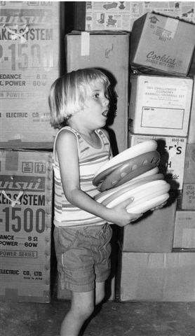 1977 Aaron moving day