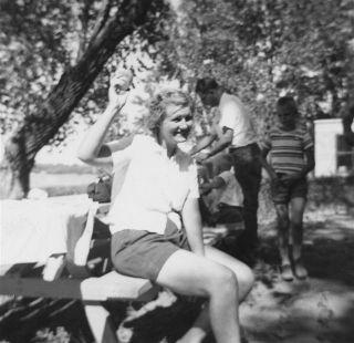 1955 Lake Manawa Elsie Lehmer waves