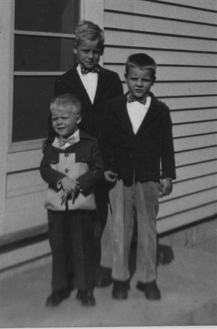 1953 David, Larry, Ronnie Lehmer