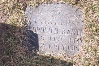 Leopold Kastl marker