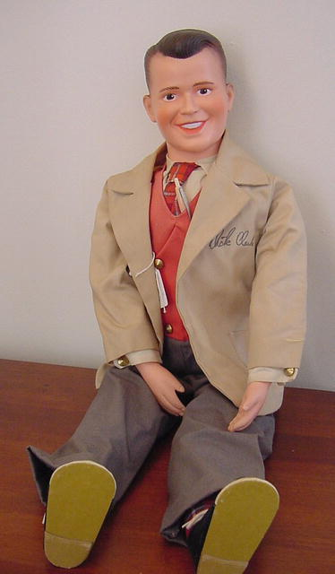 Dick clark doll